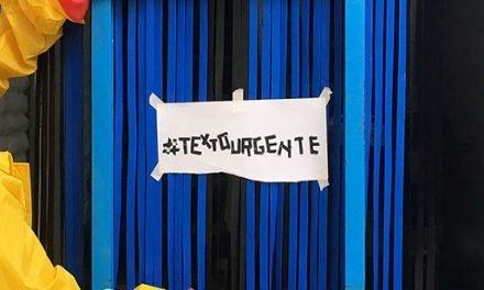Estampa Crítica #TEXTOURGENTE